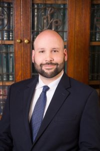 Attorney, David M. Krouse office portrait