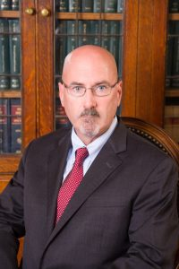 Attorney, Patrick M. Metz office portrait
