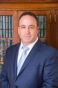 Attorney, Ronald A. Dario office portrait